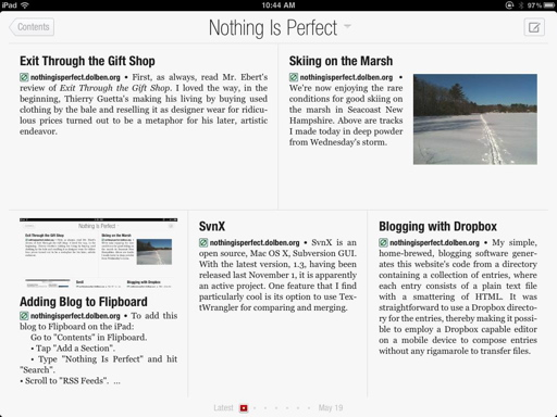 'Nothing Is Perfect' on Flipboard